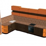 Составление дизайн проектов, проектирование корпусной мебели, Новосибирск