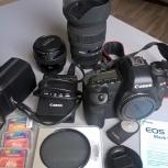 Продам фотоаппарат canon 5d mark ii body, вспышку, объективы, Новосибирск