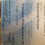 Билет на Нейромонаха Феофана, Новосибирск