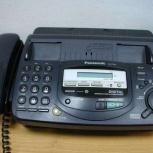 Дёшево продам факс телефон panasonic kx-ft67rs в отличном состоянии, Новосибирск