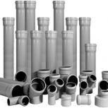 Продам канализационные трубы и комплектующие, Новосибирск