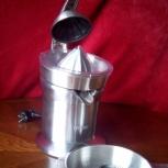 Соковыжималка для цитрус. Bork ju cup 9911 bk, Новосибирск