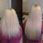 Наращивания волос кератиновое (горячее), Новосибирск