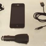 Продам оригинальный черный Apple iPhone 4 32gb, отличное состояние, Новосибирск