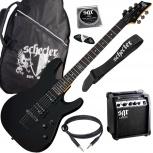 Schecter SGR sunset guitar pack BLK Гитарный комплект, Новосибирск