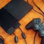 Sony PlayStation 2 + два джойстика, Новосибирск