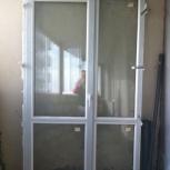 Продам дверь с двойным стеклопакетом, Новосибирск