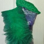 Шарф зеленый новый, Новосибирск