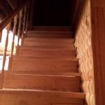 Деревянные лестницы эконом класса, Новосибирск
