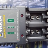 Зарядка  VARTA COMPACT CHARGER PLUS Новое, Для Ni-MH и HI-Cd, Новосибирск
