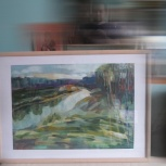 продажа картин маслом, акрилом, пастелей, Новосибирск