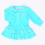 Платье для девочки, велюр (новое),р.80см, Новосибирск