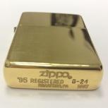 Золотая зажигалка Zippo, Новосибирск