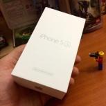 Продам iPhine 5S, 16Gb, ростест, новый, Новосибирск