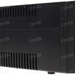 Продам ИБП DEXP EURU 1200ВА 720ВТ, новые аккумуляторы 2 шт. фирменные, Новосибирск