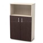 Шкаф для бумаг средний полу/открытый 700*400*1160*16, Новосибирск