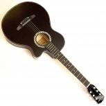Черная акустическая гитара, Новосибирск