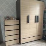 Продам мебельный гарнитур. Почти новый! + Полиуретановый матрас, Новосибирск