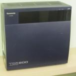 Цифровая офисная АТС Panasonic KX-TDA200RU, б/у, Новосибирск