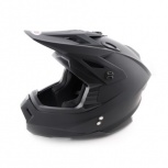 Шлем кроссовый ATAKI MX801 Solid черный, Новосибирск