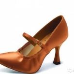Туфли для спортивных бальных танцев, 37 размер, юниоры, Новосибирск