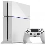 Продам Sony PlayStation 4 500Gb White с гарантией + аккаунт с играми, Новосибирск