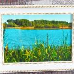 "Картина ""Озеро"", Новосибирск"