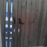 Продам комплект детских лыж, Новосибирск