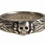 Серебряное кольцо «Мёртвая голова», Новосибирск