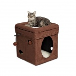 Домик-лежанка для кошки Currious Cat Cube, Новосибирск