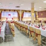 Банкетный зал для свадьбы юбилея, выпускного. Комплекс свадебных услуг, Новосибирск