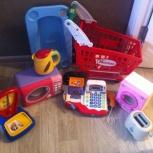 набор игрушек бытовой техники и для игры в магазин, Новосибирск