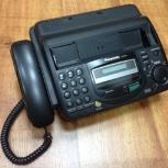Факс Panasonic KX-FT64RU, Новосибирск