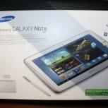 Планшет Samsung Galaxy Note 10.1 N8000 16Gb (белый), Новосибирск