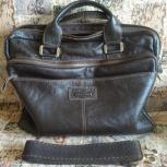 Продам кожаную сумку, Новосибирск
