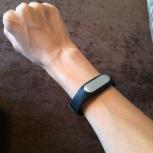Фитнес-браслет xiaomi mi band 1s pulse, черный, Новосибирск