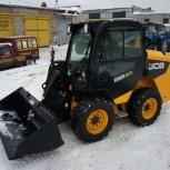 Чистка, уборка, вывоз снега, Аренда фронтального мини-погрузчика, Новосибирск