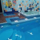 Профессиональное обслуживание частных, коммерческих бассейнов, Новосибирск