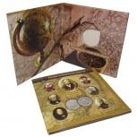 Альбом для монет. 170-летие РГО, Новосибирск