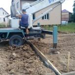 Плотники-бетонщики: бетон, фундаменты, ростверки, зимнее строительство, Новосибирск