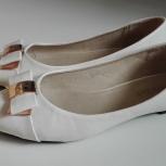 Свадебные туфли, балетки без каблука, Новосибирск