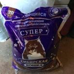 Наполнитель сибирская кошка 20кг, Новосибирск