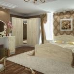 """Спальня """"фиеста"""" мдф перламутр (сура), Новосибирск"""