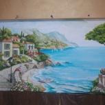 Художественная роспись стен, аэрография, живопись, барельеф, картины, Новосибирск