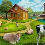 Молоко, сметана, творог, свежее мясо, кролик, Новосибирск