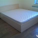 Кровать новая усиленная с матрасом, Новосибирск