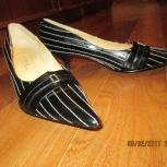 Туфли женские натуральная кожа. Новые, Новосибирск