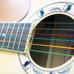 Цветные струны для гитары, Новосибирск