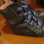 продам ботинки высокие демисезонные, Новосибирск