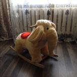 Продам детская качалка слон, Новосибирск